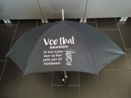 Paraplu met eigen tekst