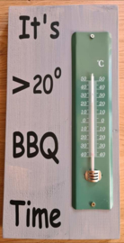 Thermometer BBQ time 20 x 40