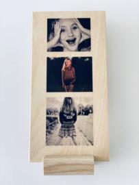 Staand - kleur - 3 foto's