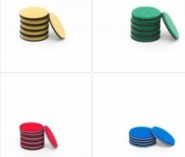 5 Polijstpads voor   discreparatie machines