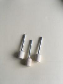 Hardvilt polijststift rond 10 mm diameter met een 3 mm stalen schacht per 3 stuks.