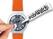 Polywatch voor het polijsten van kunststof  horlogeglazen..