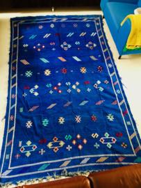Groot handgeknoopt Marokkaans / Berber vloerkleed