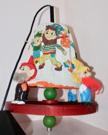 Vintage kinderkamer kabouter lamp