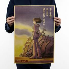 Ghibli Studio Nausicaa of the Valley poster