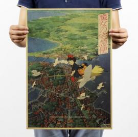 Ghibli Studio Kiki's Delivery Service poster