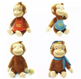 Curious George knuffel