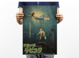 Ghibli Studio Castle In The Sky poster