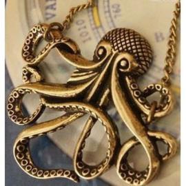Octopus Ketting