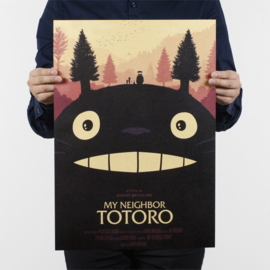Ghibli Studio My Neighbour Totoro poster