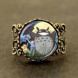 Ghibli Totoro ring