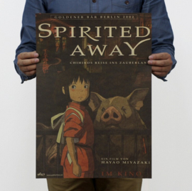 Ghibli Studio Spirited Away poster