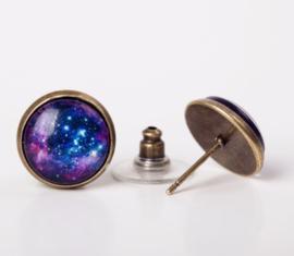 Galaxy oorbel