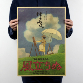 Ghibli Studio The Wind Rises poster