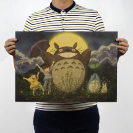 Ghibli Studio My Neighbour Totoro poster