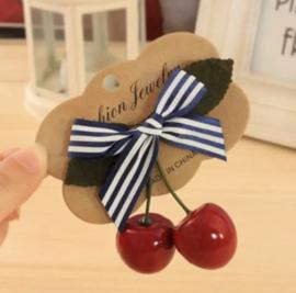 Cherry pinup haarclip