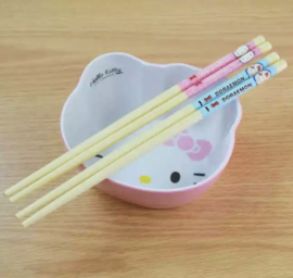 Hello Kitty & Doraemon chopsticks