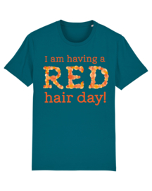 T-shirt - Men - Having a Red hair day