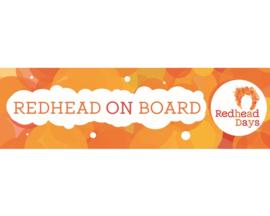 Redhead Days Bumpersticker
