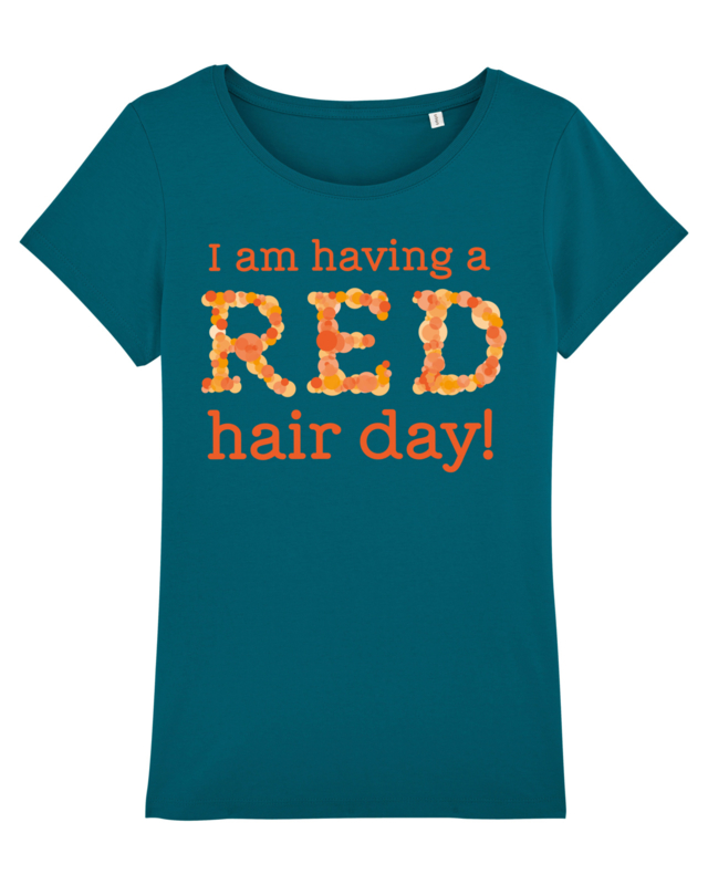 T-shirt - Women - Having a Red hair day