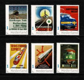 Bijzondere Spoorweg-affiches. Serie 1 van 2