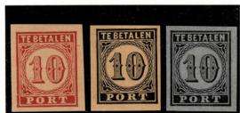 1870. Proef P.4 ~ 15 verschillende kleuren