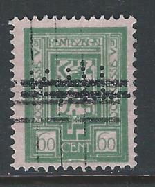 K.H.L. in Rentezegel b12, 60 cent