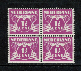 171A 1½ ct. violet in blok ⊞ **