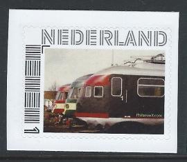 Treinen Nederland NS e.a. Nederlands materiaal (zelfklevend)