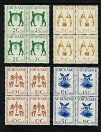 1955. 317/20 Carribean Tourist Association in ⊞ **