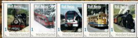 2019. Rail Away Postset motief Spoorwegen, met 5 kaarten **