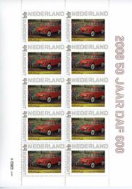 2008 DAF 600 50 jaar in de rode uitvoering