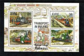 Ierland 1995. Blok transport via Smalspoor **