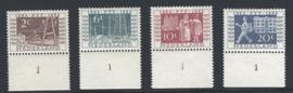 1952. 592/5 ITEP met plaatnummers **