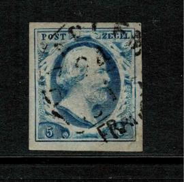 1f. Flets Staalblauw., plaat II positie 54