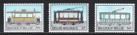 België 1983. 2079/81 Tram & Trolleybus**