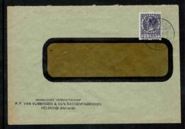 VVH in R24 uit 1928 met sluitzegel Olympiade op achterzijde ✉️