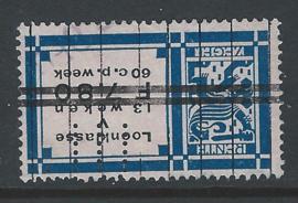U.L. in Rentezegel c43,  7 Gulden 80 cent