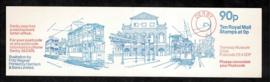 Engeland 1979. Postzegelboekje SG FG 7A met kaft trammotief**.
