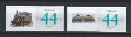 2 maal zakenzegel met Marklin treinen