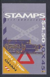 Australië 1993. Spoorwegen Postzeglboekje zelfklevend **