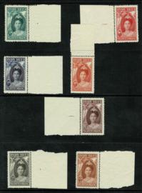 1923.104/110 Jubileum. Luxe serie met verlanden incl. certificaat **