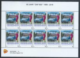 60 jaar DAF 600 1958 - 2018 (blauwe uitvoering)