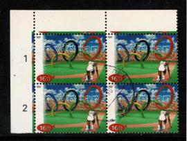 1996. 1686 Olympiade in hoekblok ⊞⦿