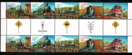 Australië 2004. 150 jaar Spoorwegen. Complete serie in Brugparen **