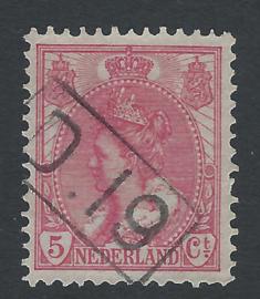 Postbestellerstempel D19 op60