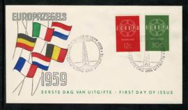1959. E39 Europazegels