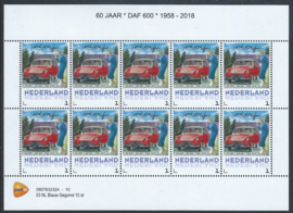 60 jaar DAF 600 1958 - 2018 (rode uitvoering)