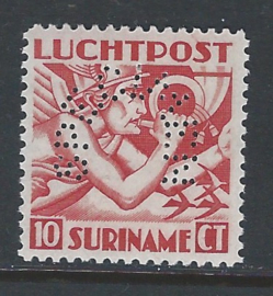 Suriname Luchtpost 1 ** SPECIMEN