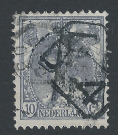 Postbestellerstempel D4 op 62